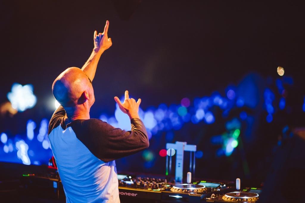Moby DJing at Mysteryland USA 2014 - 13