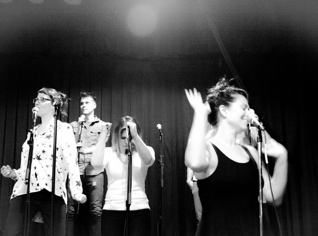 Kelli & Band At Fonda Rehearsals
