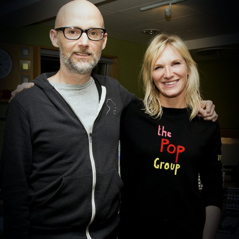 moby + jo whiley